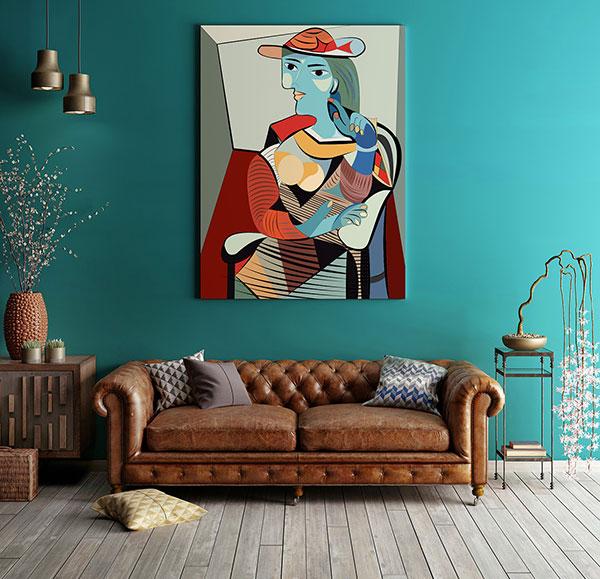 Kubistyczny obraz