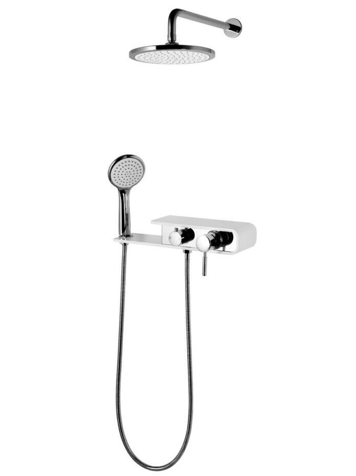 zestawy podtynkowe prysznicowe