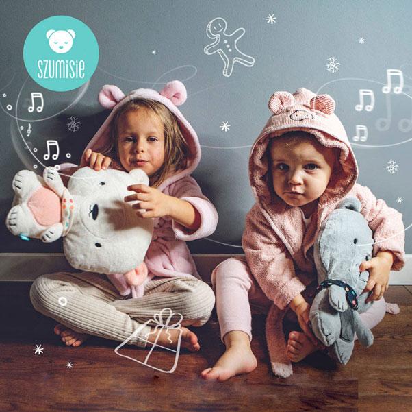 Misie marki Szumisie dla starszych dzieci z kołysankami
